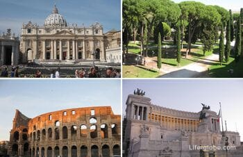 Top-23 Rome Sights