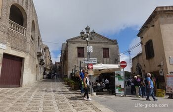 Erice, Sicily - a city on top of a mountain