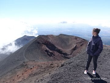 Etna is the highest volcano in Europe. Ascent to Etna!