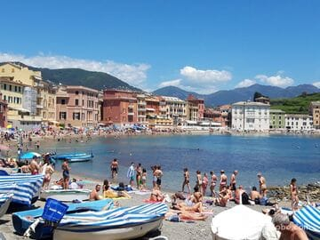 Bay of Silence, Sestri Levante (Baia del Silenzio) - most picturesque beach
