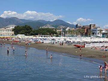 Bay of the Fables, Sestri Levante (Baia delle Favole): beaches, promenade, port