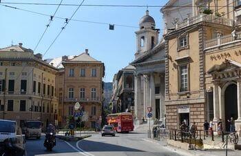 Nunziata Square, Genoa (Piazza della Nunziata)