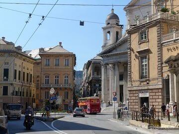 Площадь Нунзиата, Генуя (Piazza della Nunziata)