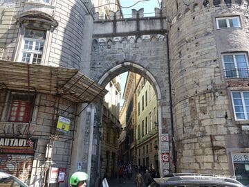 Ворота Вакка, Генуя (Porta dei Vacca)