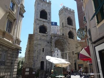 Ворота Сопрана, Генуя (Porta Soprana)
