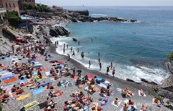 Beaches of Genoa (coast of Genoa). Beach holidays in Genoa