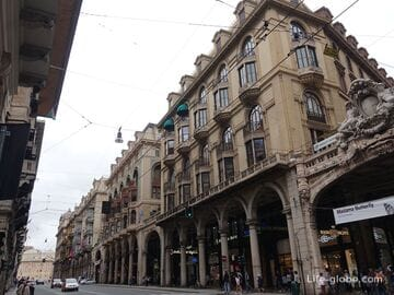 Улица 20 Сентября, Генуя (Via XX Settembre)