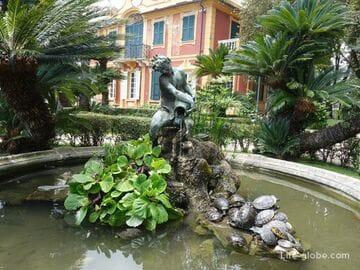 Villa Durazzo complex in Santa Margherita Ligure: villa, garden, museum