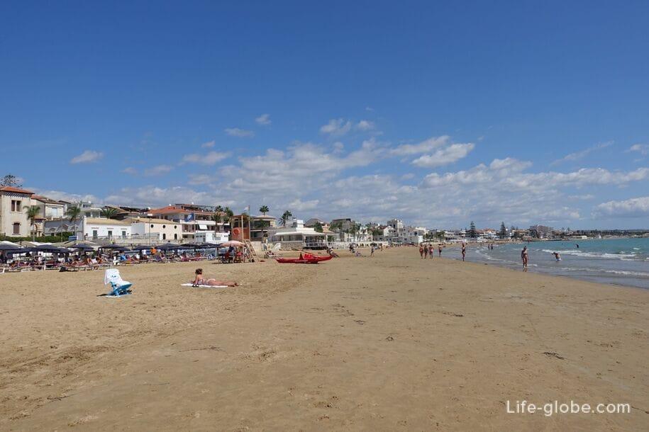 Пляж Marina di Ragusa, Сицилия