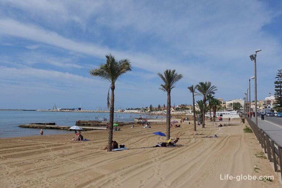 Пляж Марина ди Рагуза