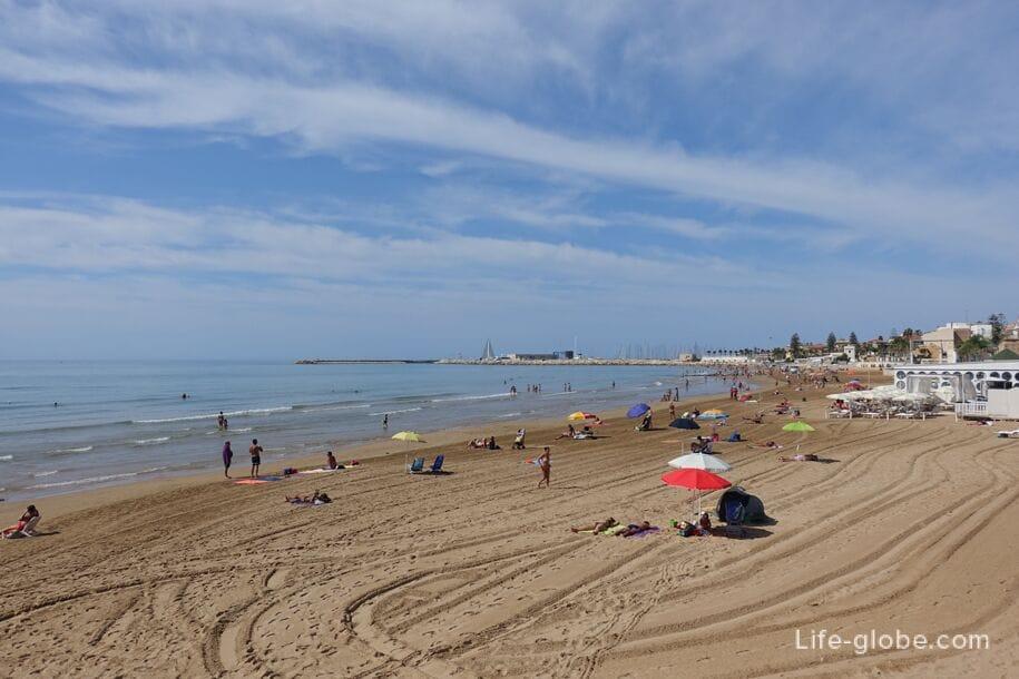 Пляж Марина ди Рагуза, Сицилия