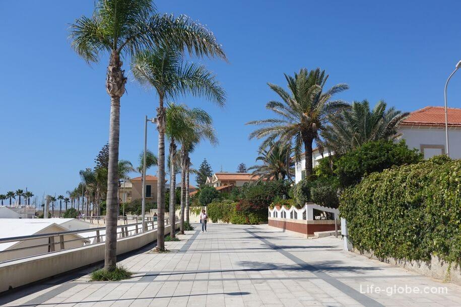Набережная Марина ди Рагуза, Сицилия