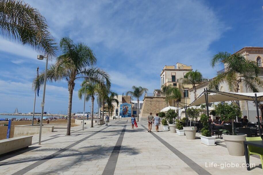 Исторический памятник Torre Cabrera, Марина ди Рагуза