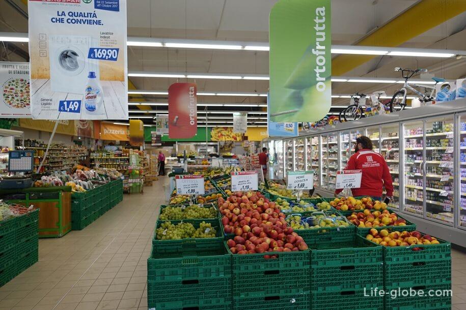 Магазин Eurospar, Марина ди Рагуза