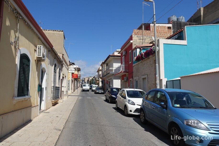 Streets of Marina di Ragusa