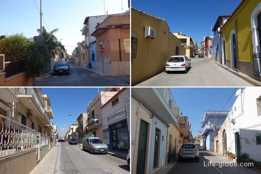 Улицы Марина ди Рагуза, Сицилия