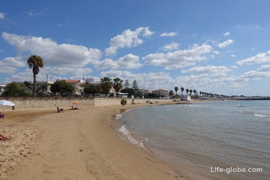 Пляж Marina di Ragusa