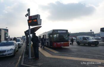 Как добраться из аэропорта Бергамо в центр Бергамо (из центра Бергамо в аэропорт)