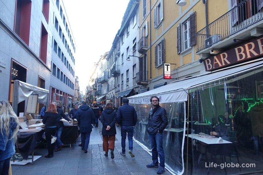 Брера, Милан