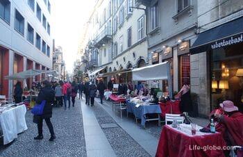 Брера - самый богемный квартал Милана