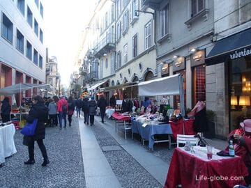 Brera is the most Bohemian quarter of Milan