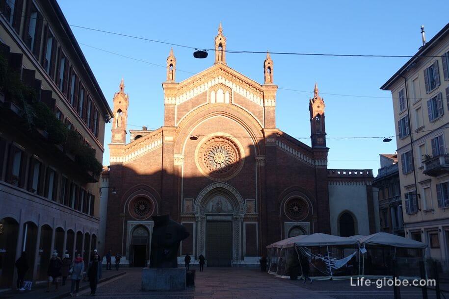 Церковь Санта-Мирия-дель-Кармин, Милан