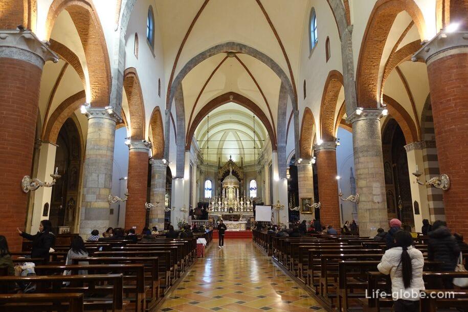 Chiesa Santa Maria del Carmine, Милан