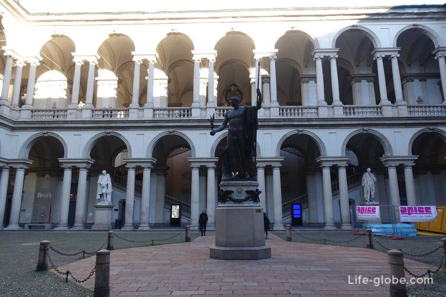 Дворец Брера, Милан