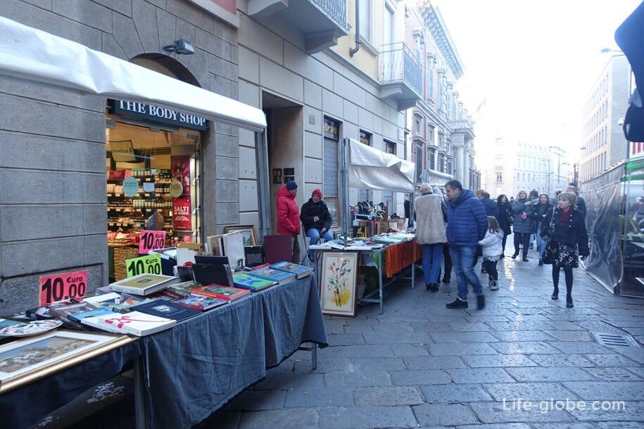Via Brera, Милан