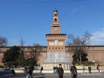 Замок Сфорца, Милан (Castello Sforzesco)