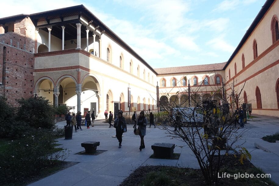Ducal Court, Sforza Castle, Milan