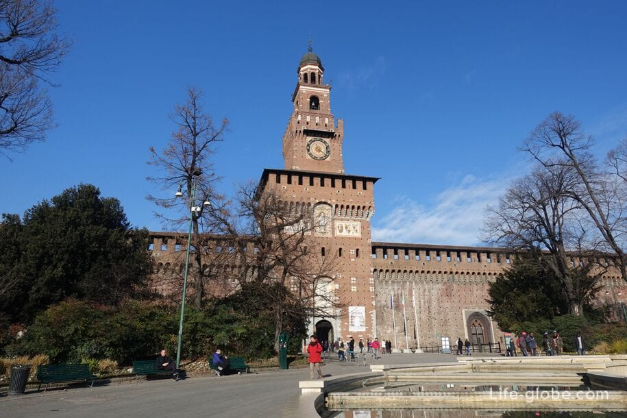 Filaret Tower, Sforza Castle, Milan