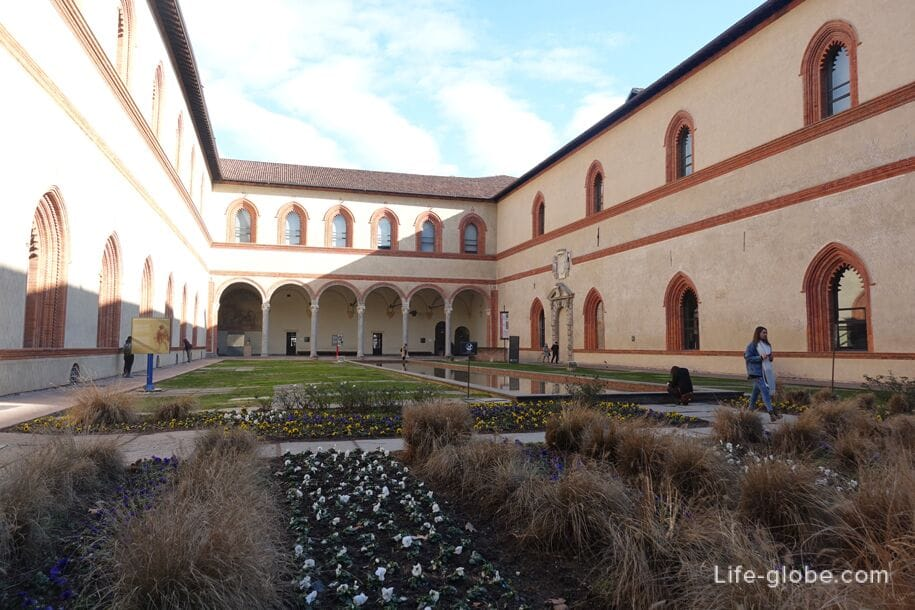 Courtyard - Ducal Court, Sforza Castle, Milan
