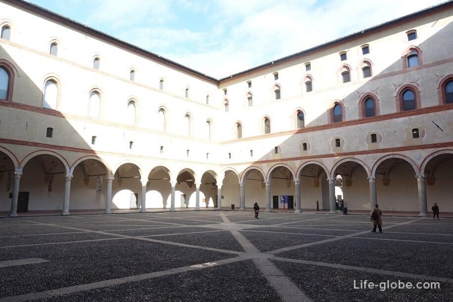 Роччетта, замок Сфорца, Милан
