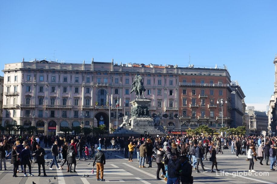 Дворец Карминати, Милан