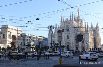 Площадь Дуомо, Милан: Миланский собор, Королевский дворец, Галерея Виктора Эммануила II