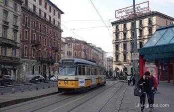 Фото улиц Милана, Италия