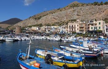Mondello, Sicily - beach resort near Palermo