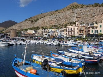 Mondello, Sicily - beach resort near Palermo