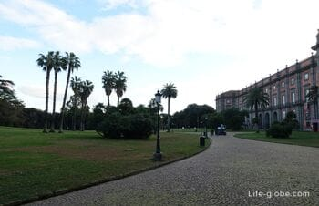 Park Capodimonte, Naples: garden, museum and observation deck