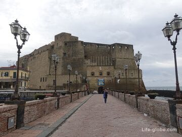 Castel dell'Ovo, Naples - Medieval Egg Fortress