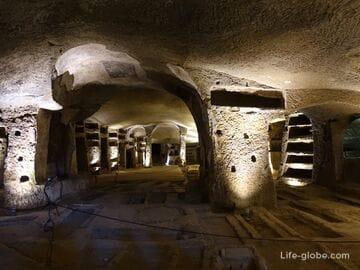 Катакомбы Сан-Дженнаро, Неаполь (или катакомбы Святого Януария / Catacombe di San Gennaro)