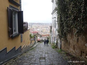Педаментина, Неаполь - панорамная лестница (Pedamentina San Martino)