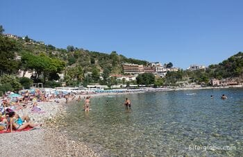 Beaches of Taormina, Sicily
