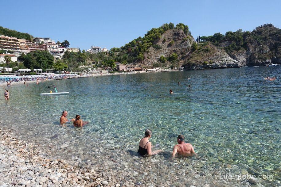 Isola Bella, Таормина, Сицилия