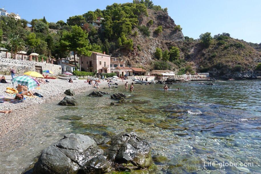 Isola Bella Beach, Taormina