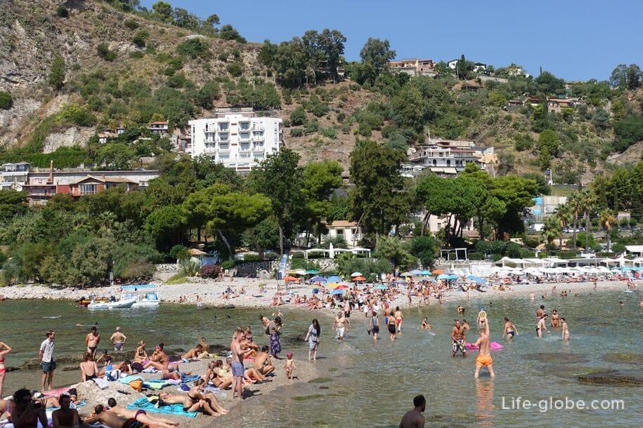 Isola Bella in Taormina