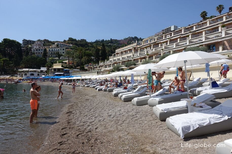 Mazzaro Beach, Taormina