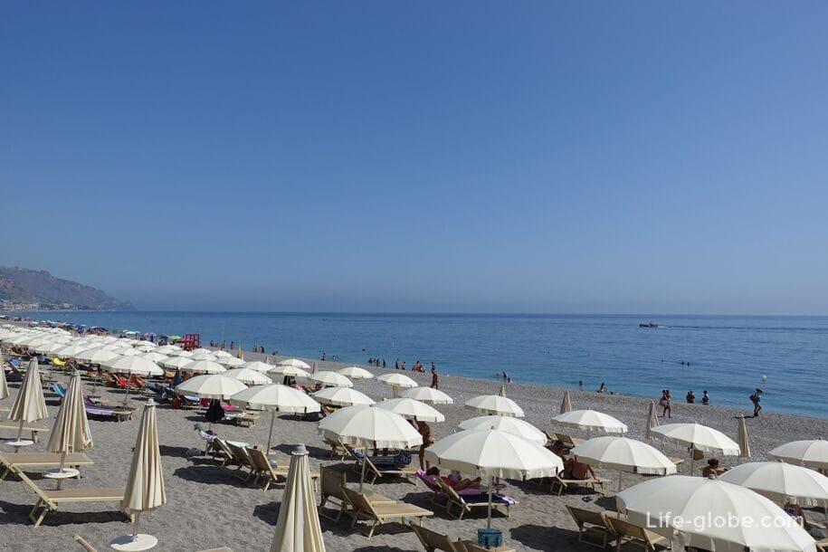 Пляжи Сицилии, Италия