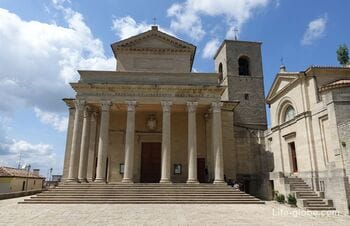 Базилика Сан-Марино  (Basilica di San Marino) - главная церковь Сан-Марино